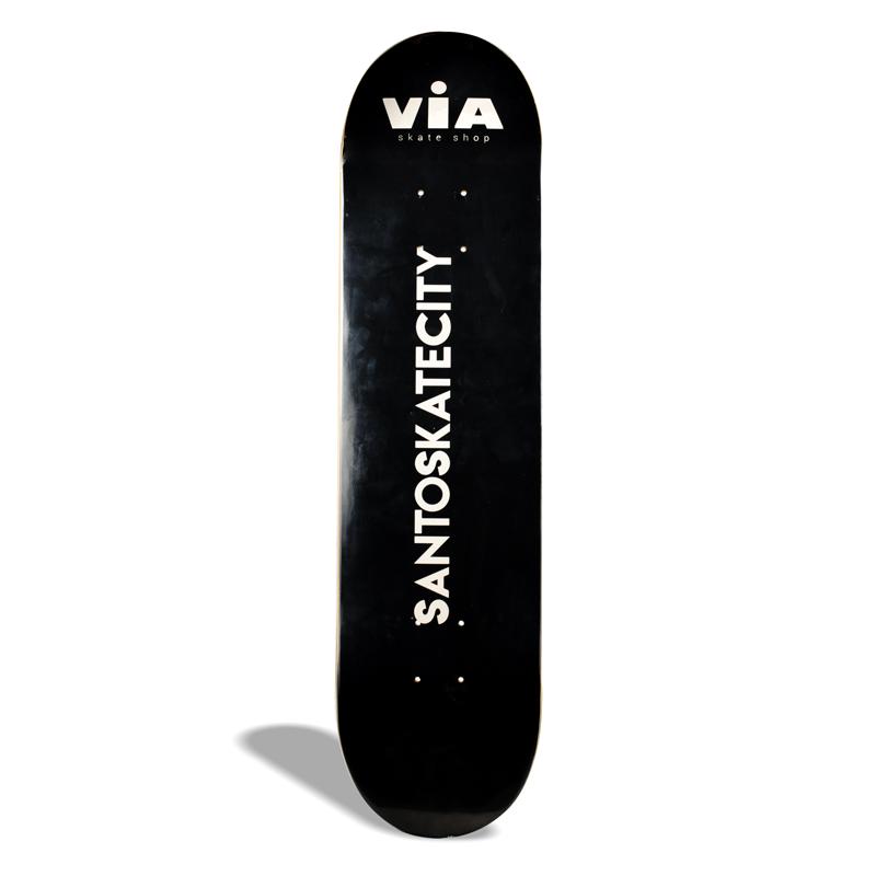 """Shape de Skate Street Maple Via Drop 1 / Santos Skate City 8.50"""""""