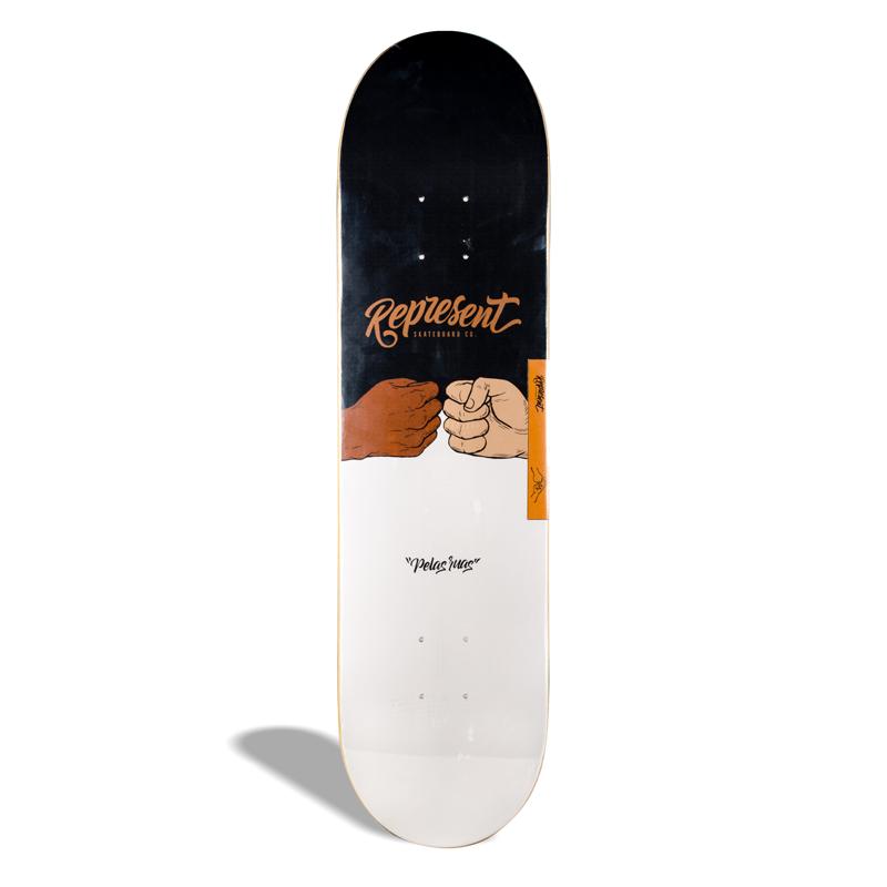 Shape de Skate Street Marfim Represent Punch