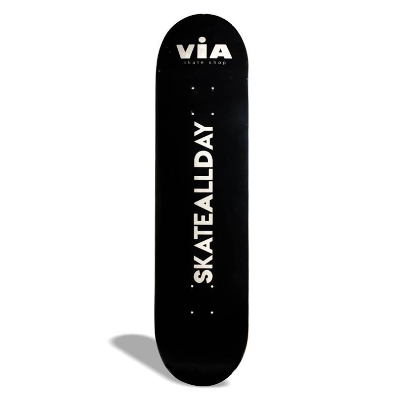 "Shape de Skate Street Marfim Via Drop 1 / Skate All Day 8.25"""