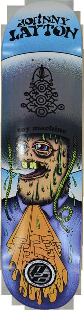 Shape Maple P2 Toy Machine Amigo Johnny Layton 8.25 pl