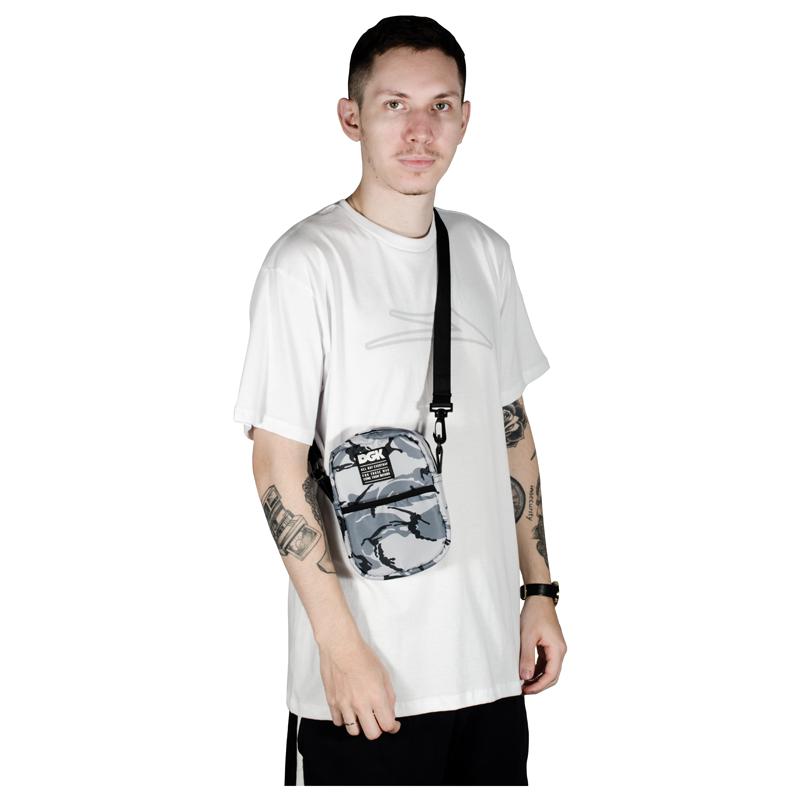 Shoulder Bag DGK Dsrupt Camuflada Cinza