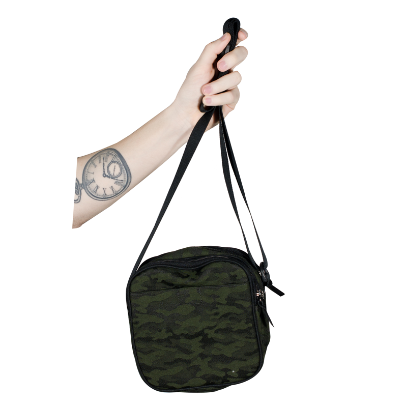 Shoulder Bag Hocks Turista Camuflada