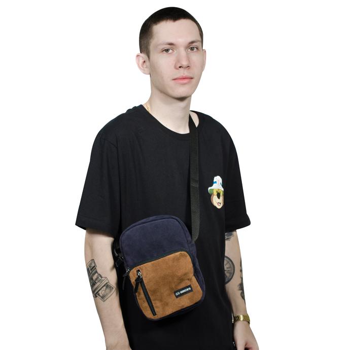 Shoulder Bag Hocks Viagio II Azul Marinho