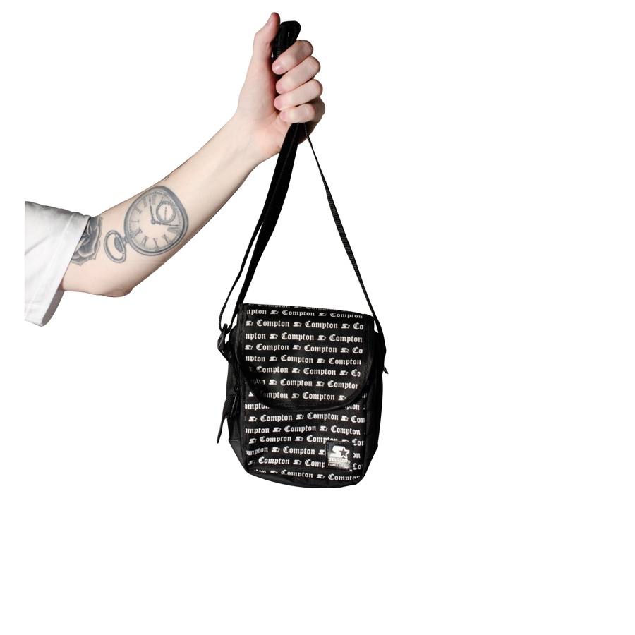 Shoulder Bag Starter Compton Preto