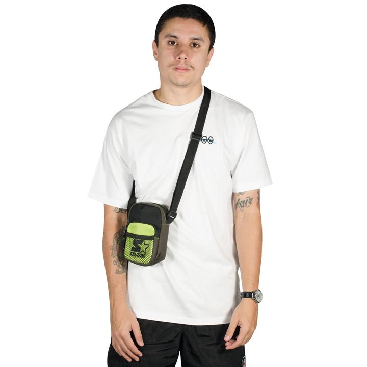 Shoulder Bag Starter Preta/Neon