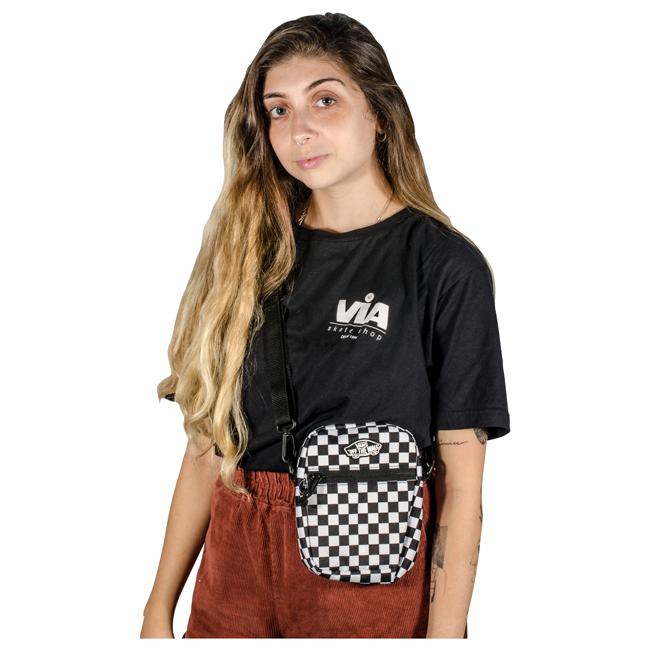 Shoulder Bag Vans Street Ready II Crossbody Checkerboard VN0A4BH156M