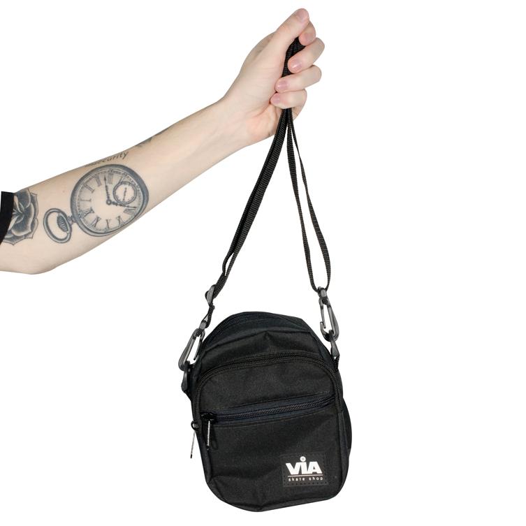 Shoulder Bag Via Preta