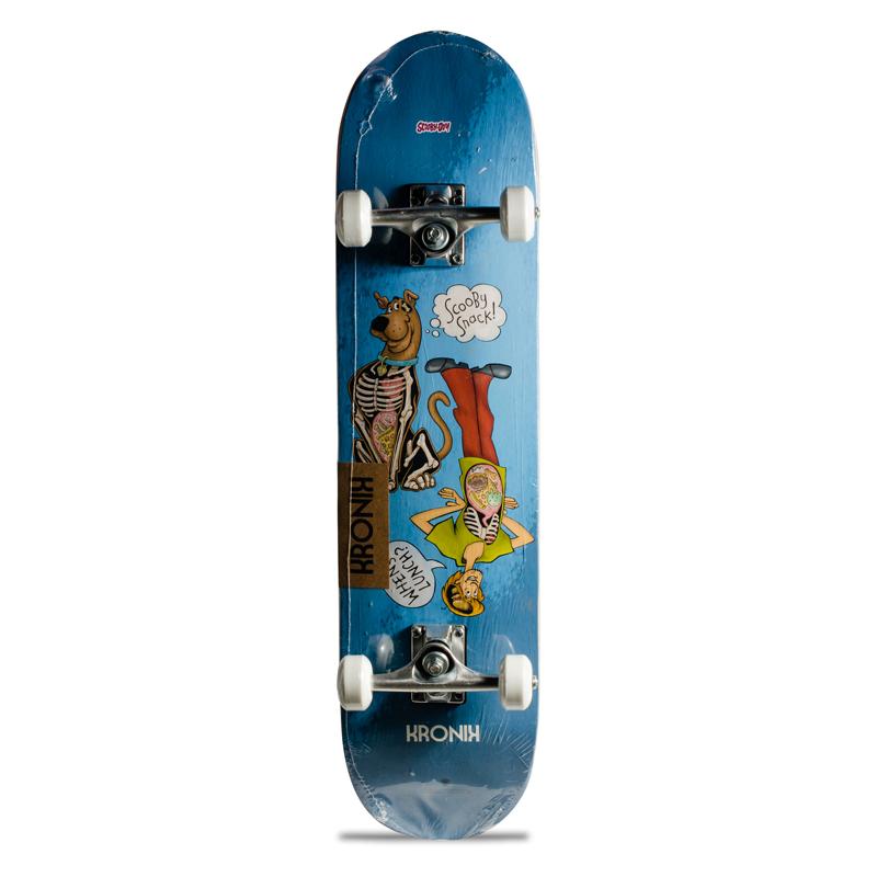 Skate Street Iniciante Completo Infantil Kronik Scooby Doo