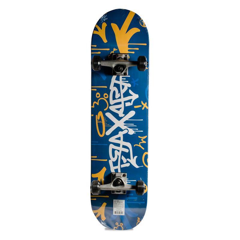 Skate Street Intermediário Completo Traxart Azul