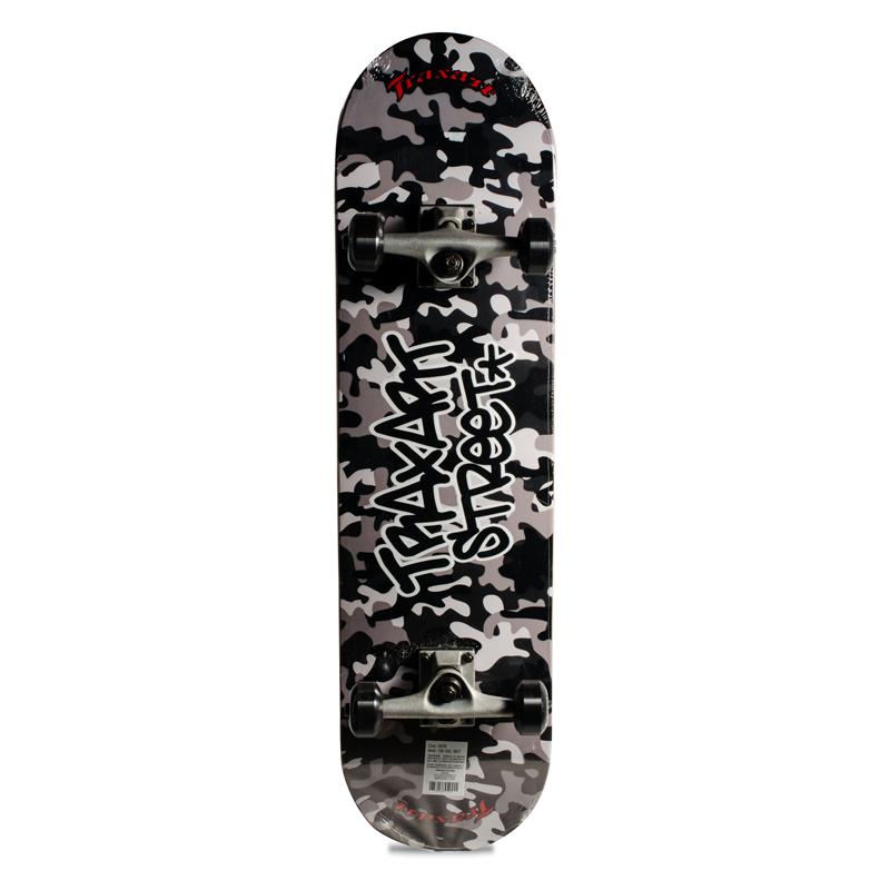 Skate Street Intermediário Completo Traxart Camuflado