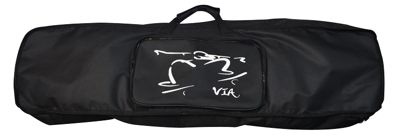 Skatebag Via Skate Shop Long Preto