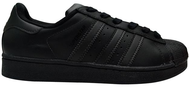 Tênis Adidas Superstar Foundation Preto Total
