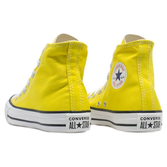 Tênis Converse Chuck Taylor All Star HI Amarelo