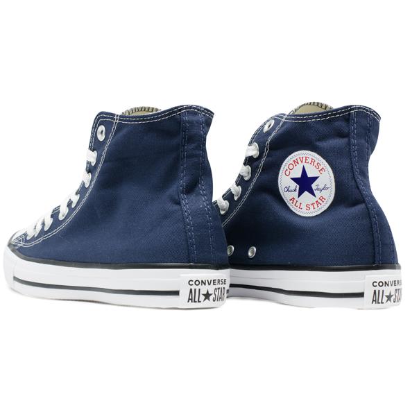 Tênis Converse Chuck Taylor All Star HI Azul Marinho Tamanho Grande