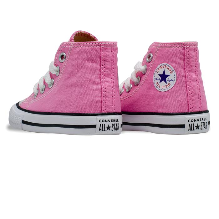 Tênis Converse Chuck Taylor All Star HI Baby /Rosa  CK00030006