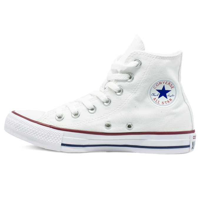 644311bd8d ... Tênis Converse Chuck Taylor All Star HI Branco - Via Skate Shop ...