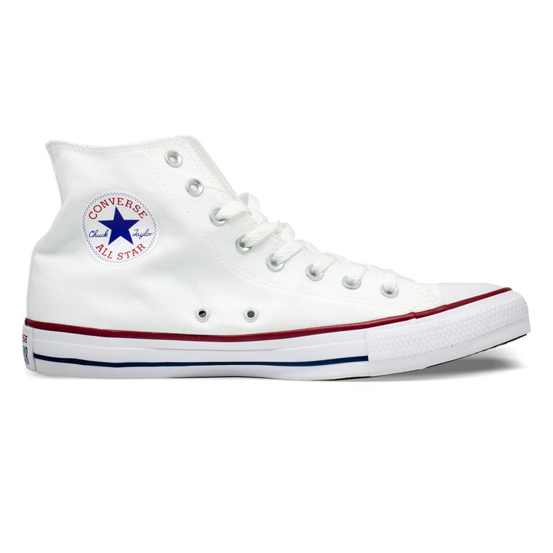Tênis Converse Chuck Taylor All Star HI Branco Tamanhos Grandes CT00060001