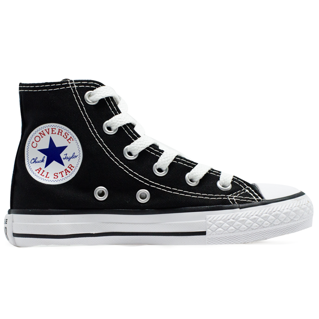 Tênis Converse Chuck Taylor All Star Hi Infantil As Core Preto