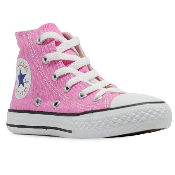Tênis Converse Chuck Taylor All Star Hi Infantil As Core Rosa