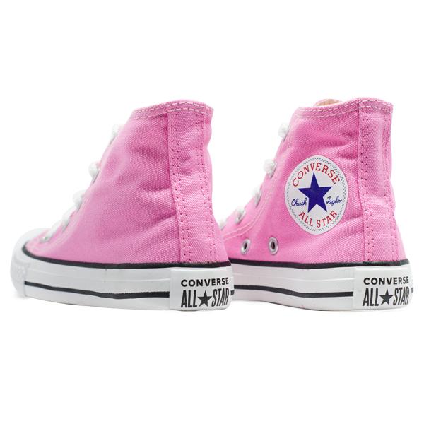 Tênis Converse Chuck Taylor All Star Hi Infantil As Core Rosa