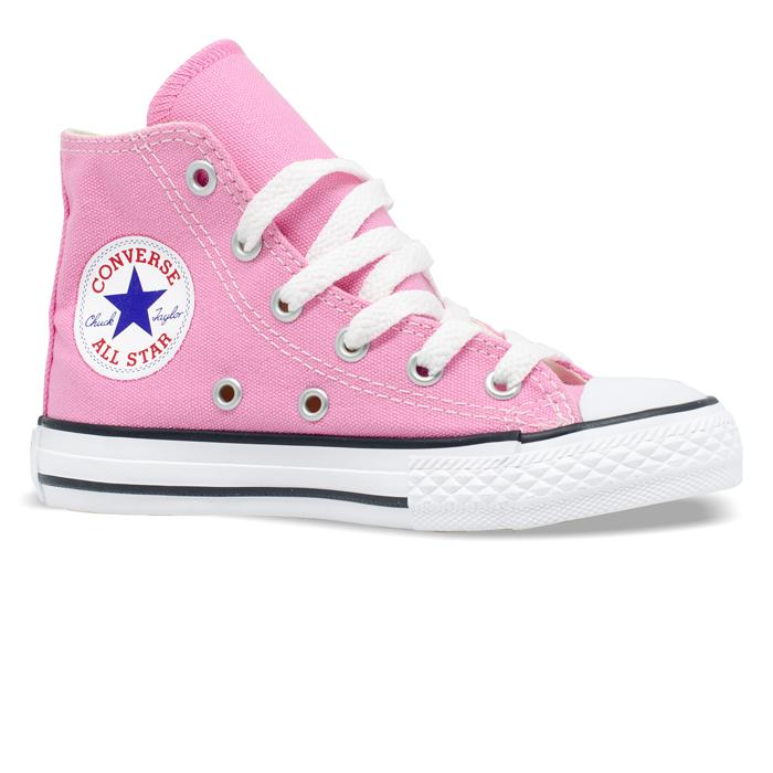 Tênis Converse Chuck Taylor All Star Hi Infantil Seasonal Carmim CK04280024