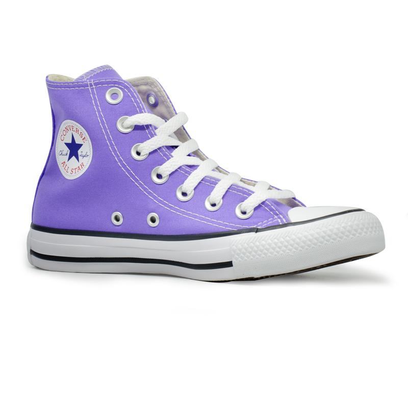 Tênis Converse Chuck Taylor All Star HI Lilás Brilhante CT04190043