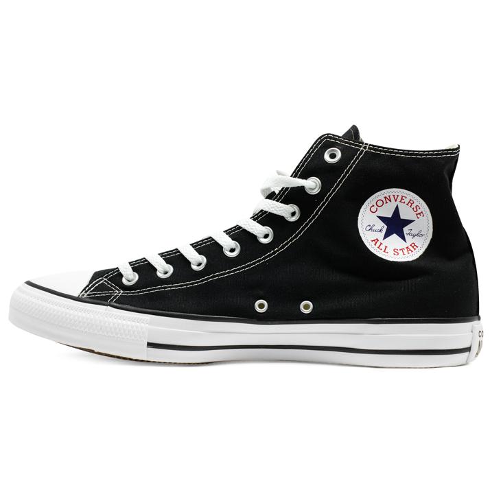 Tênis Converse Chuck Taylor All Star HI Preto Tamanho Grande