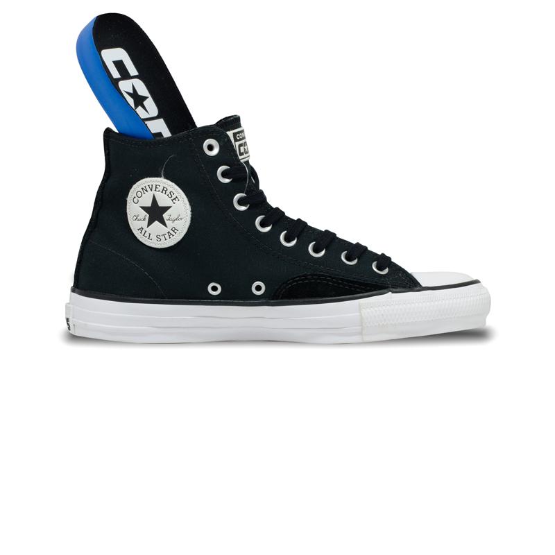 Tênis Converse Chuck Taylor All Star HI PRO Preto / Branco  CT17210001
