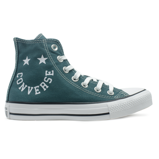 Tênis Converse Chuck Taylor All Star HI Smile Verde Escuro