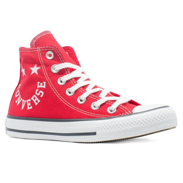 Tênis Converse Chuck Taylor All Star HI Smile Vermelho