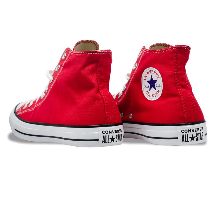 Tênis Converse Chuck Taylor All Star HI Vermelho Cru CT00060004