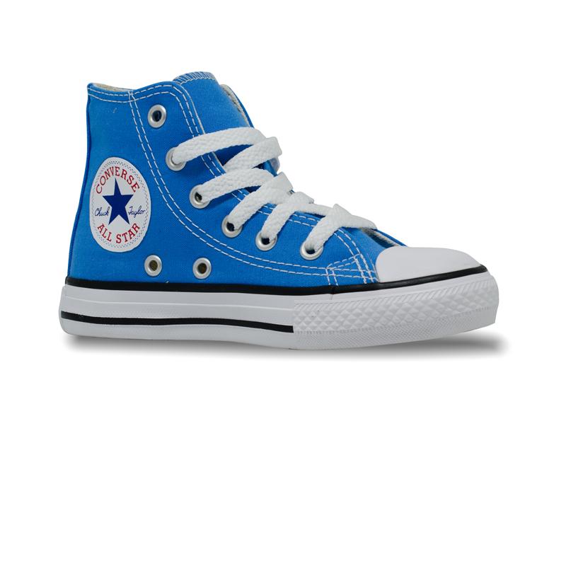 Tênis Converse Chuck Taylor All Star Infantil Hi Azul Digital CK04280029