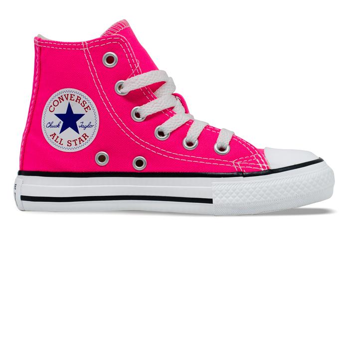 Tênis Converse Chuck Taylor All Star Infantil Hi Rosa Choque CK04280031