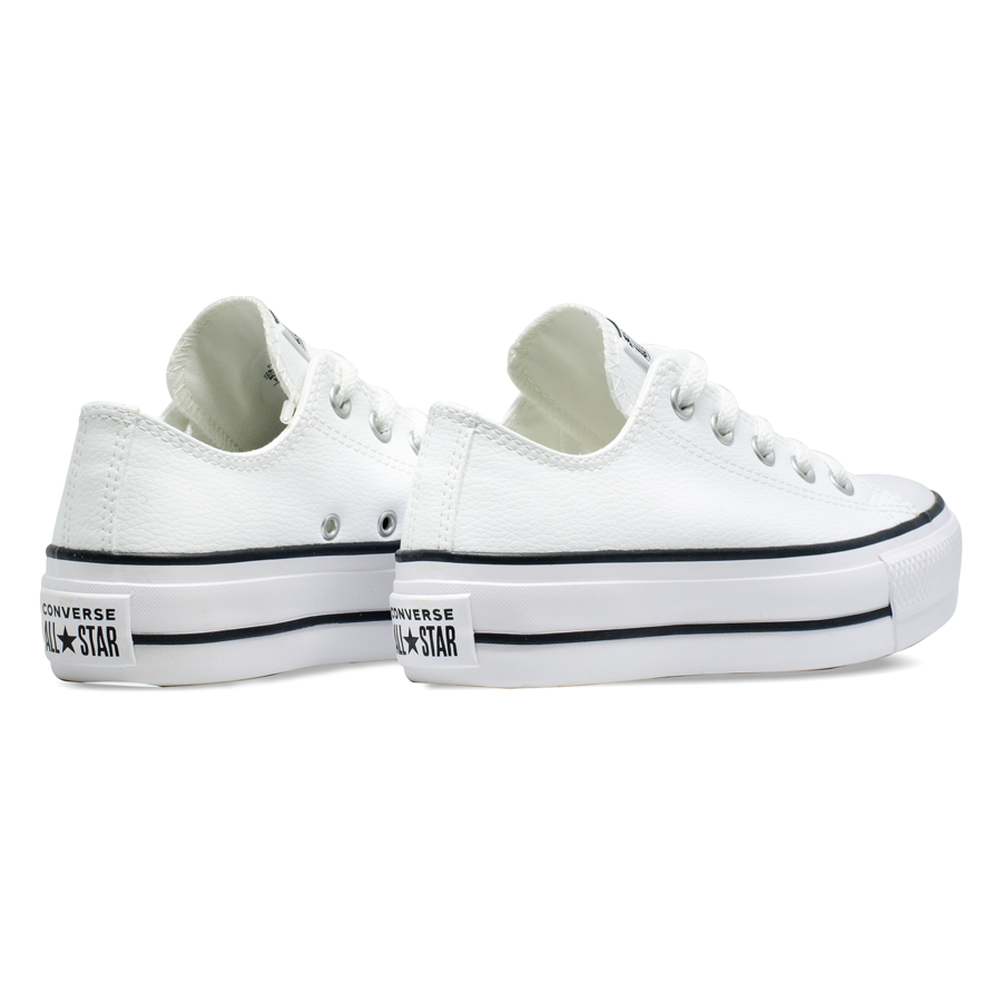 Tênis Converse Chuck Taylor All Star Plataforma Lift Branco CT09830001