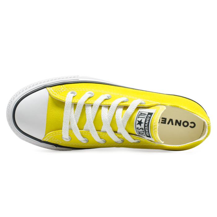 Tênis Converse Chuck Taylor All Star Ox Platform Lift Amarelo Vivo