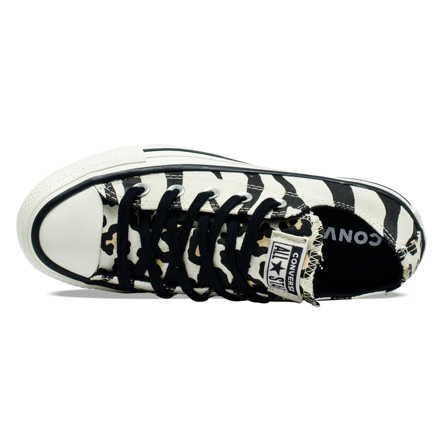 Tênis Converse Chuck Taylor All Star OX Zebra Animal Print  CT13610001