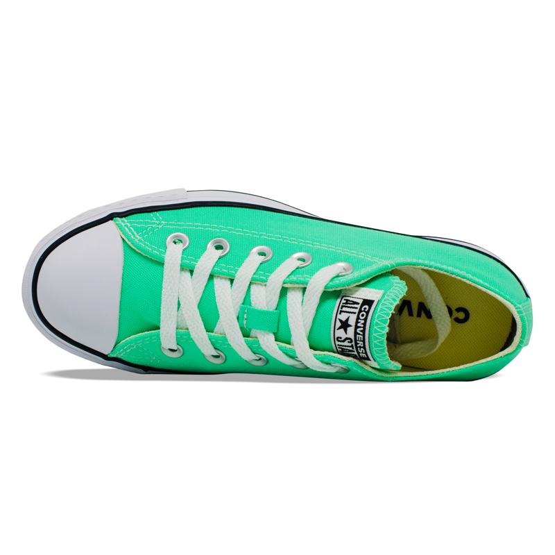 Tênis Converse Chuck Taylor All Star Plataforma Lift Verde Brilhante CT09630028