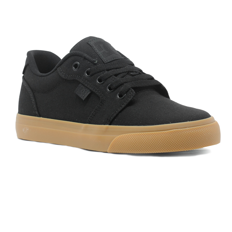 ... Tênis DC Anvil TX LA Preto   Natural - Via Skate Shop ... e18a85cc64ffb