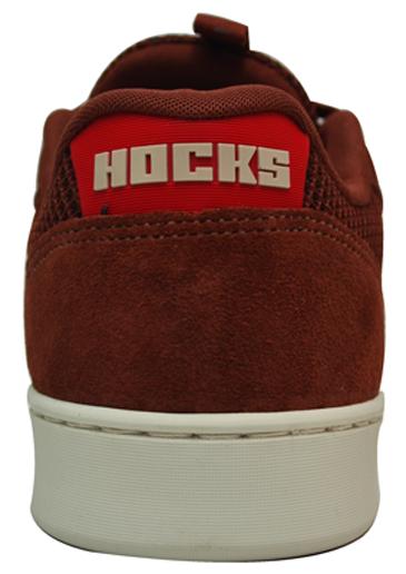 Tênis Hocks Formiga Skills Whisky / Vermelho