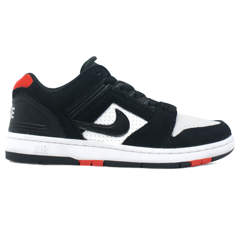 Tênis Nike SB Air Force II Low Preto / Branco