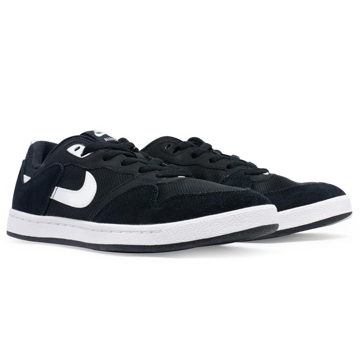 Tênis Nike SB Alleyoop Solarsoft Preto / Branco