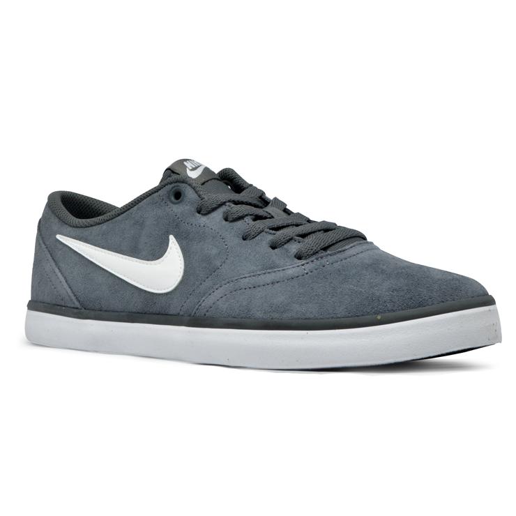cfe907561d ... Tênis Nike Sb Check Solar Cinza Branco - Via Skate Shop ...