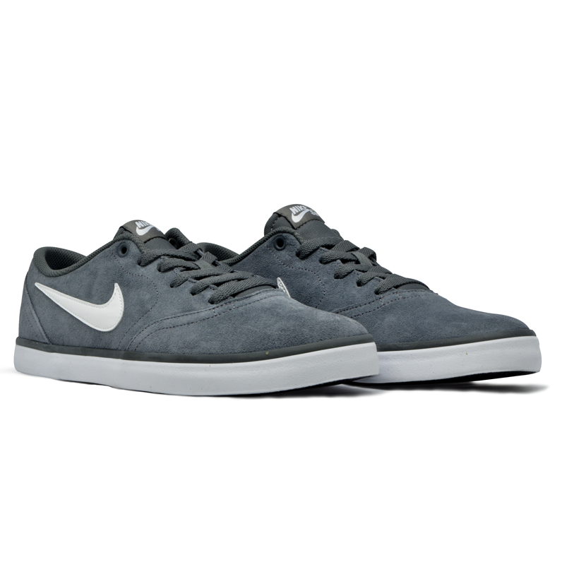 Tênis Nike Sb Check Solar Cinza/Branco