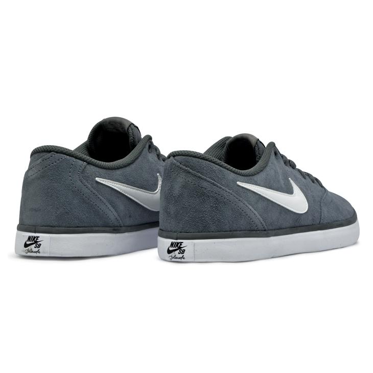 a2f722a868 ... Tênis Nike Sb Check Solar Cinza Branco - Via Skate Shop