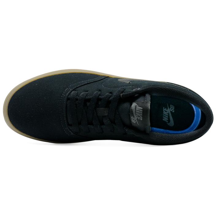 Tênis Nike SB Check Solar Canvas Preto Natural
