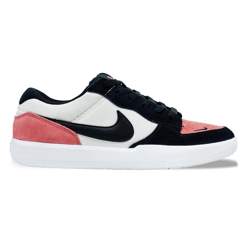 Tênis Nike SB Force 58 Preto / Rosa / Branco
