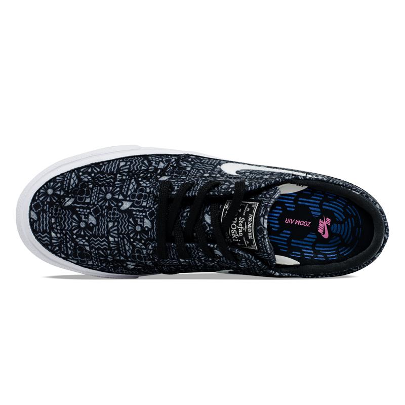 Tênis Nike SB  Janoski Canvas Cashmere Black / White