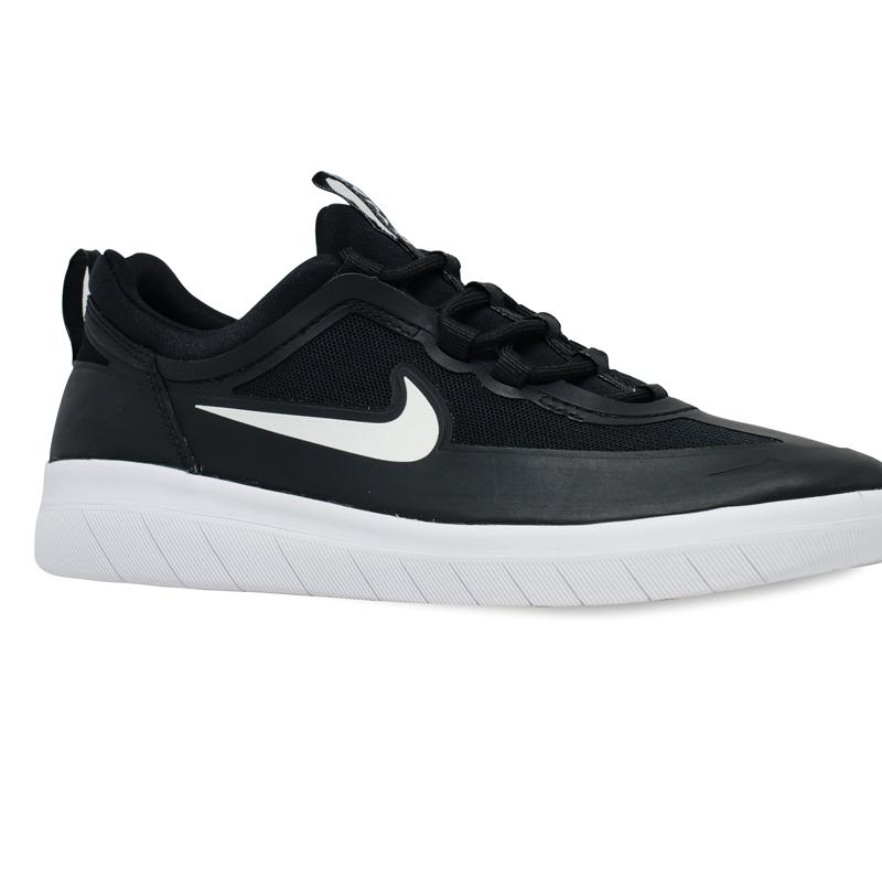 Tênis Nike SB Nyjah Free 2.0 Preto / Branco