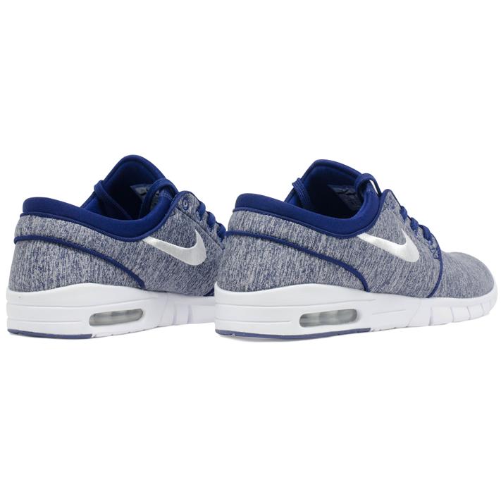Tênis Nike Sb Stefan Janoski Max Azul Mescla