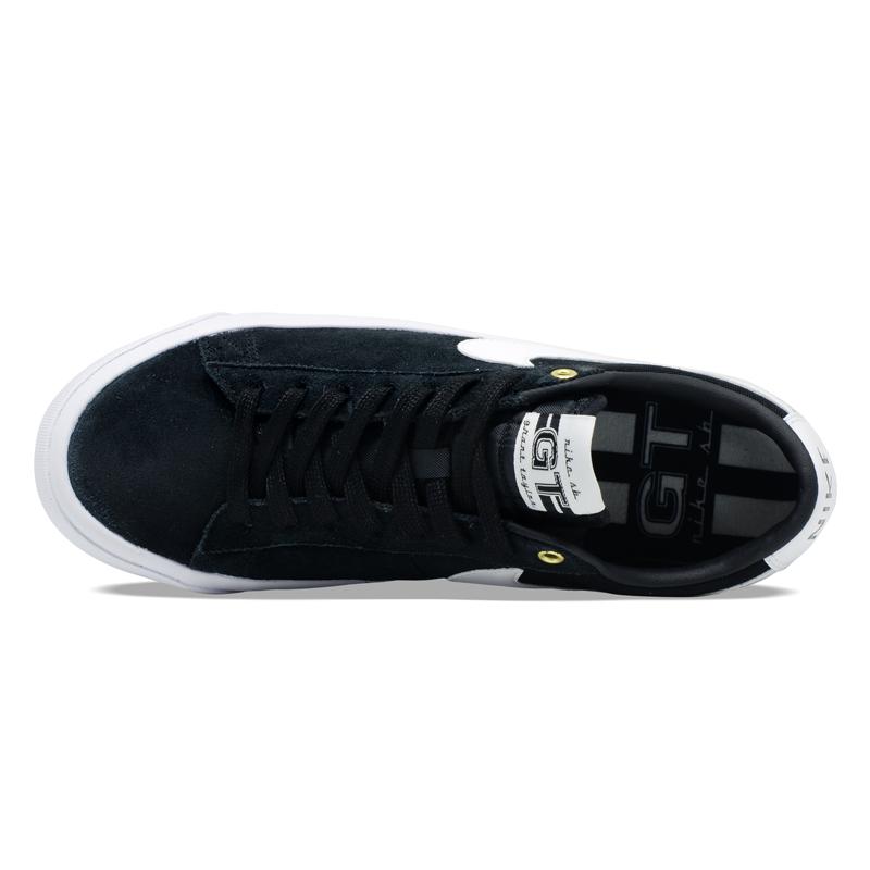 Tênis Nike SB Zoom Blazer Low Pro GT Preto / Branco